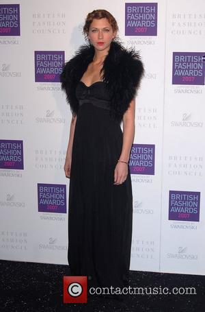 Margo Stilley British Fashion Awards held at the Royal Horticultural Halls London, England - 27.11.07