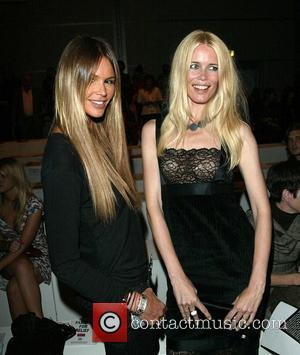 Elle Macpherson and Claudia Schiffer