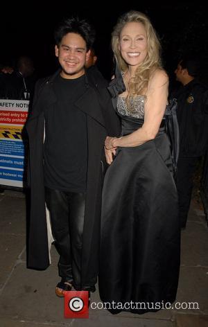 Faye Dunaway and Prince