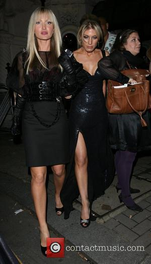 Caprice Bourret and Hofit Golan