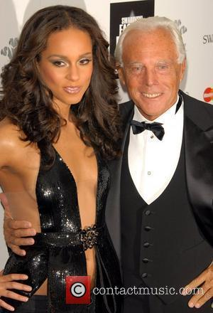 Fashion Rocks, Alicia Keys, Giorgio Armani