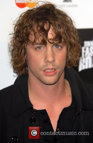 Johnny Borrell Swarovski Fashion Rocks held at the Royal Albert Hall - Press Room London, England - 18.10.07