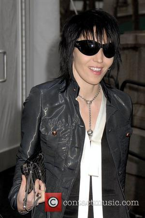 Joan Jett Mercedes Benz Fashion Week Fall 2008 - Celebrities arriving at Bryant Park New York City, USA - 04.02.08