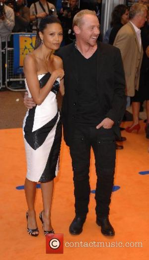 Thandie Newton and Simon Pegg