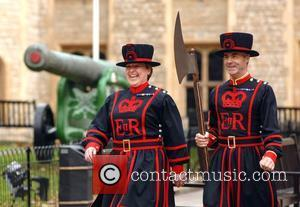 The first ever female Beefeater Yeoman Warder Moira Cameron is starting her first day of duty in uniform at the...