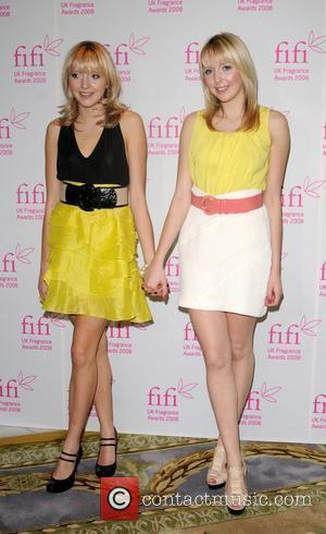 Samantha Marchant and Amanda Marchant Fifi fragrance awards 2008 at the Dorchester Hotel - arrivals London, England - 23.04.08