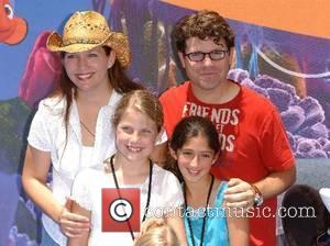 Sean Astin and family Launch of the Finding Nemo Submarine Voyage attraction at the Disneyland Resort Anaheim, California - 10.06.07