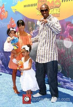 Kobe Bryant and family 'Finding Nemo Submarine Voyage' opening held at Disneyland Anaheim, California - 10.06.07