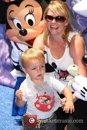 Melissa Joan Hart and son Mason 'Finding Nemo Submarine Voyage' opening held at Disneyland Anaheim, California - 10.06.07