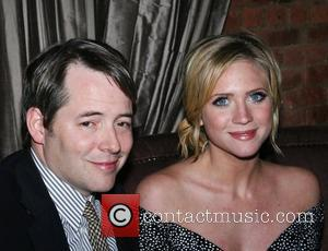 Matthew Broderick and Brittany Snow