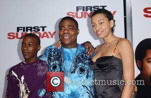 Tracy Morgan with family LA Premiere of 'First Sunday' at the The Cinerama Dome.  Los Angeles, CA - 10.01.08