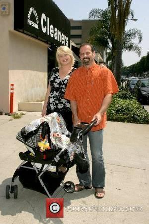 Kristy Swanson, Lloyd Eisler and their baby Magnus Hart Swanson Eisler Tree House Social Club Grand Opening Beverly Hills, California...