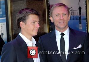 Daniel Craig and Harry Eden