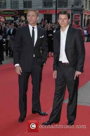 Daniel Craig and Guest UK film premiere of 'Flashbacks Of A Fool' held at Empire Leicester Square - Arrivals London,...