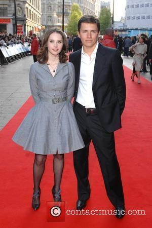Felicity Jones and Harry Eden