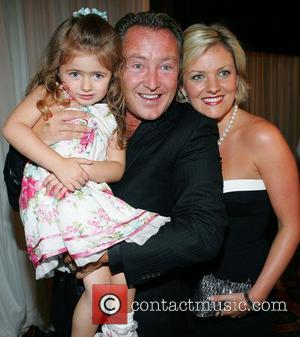 Flatley In Awe Of Baby Son