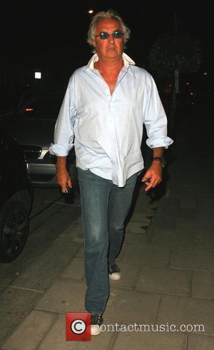 Flavio Briatore leaving Cipriani restaurant in Soho  London, England - 11.09.07