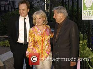 Bradley Whitford, Bette Midler and Tony Bennett