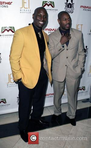 Tyrese and Tank Floyd Mayweather's Official World Championship bout after-party held at Jet Nightclub, inside the Mirage Hotel and Casino...