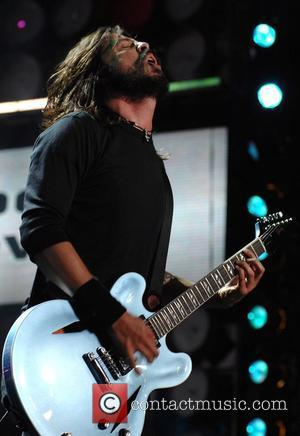Dave Grohl Foofighters Live Earth concert