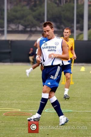 John Terry Chelsea Football Club Training Camp at UCLA Los Angeles, California - 10.07.07