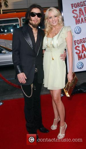 Dave Navarro and Stormy Daniels Premiere of 'Forgetting Sarah Marshall' at the Grauman's Chinese Theater Los Angeles, California - 10.04.08