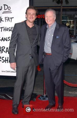 Jason Segel and Jon Voight