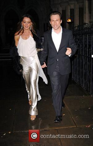 Tamara Mellon and Christian Slater Fortune Forum Summit held at the Royal Courts of Justice - leaving London, England -...