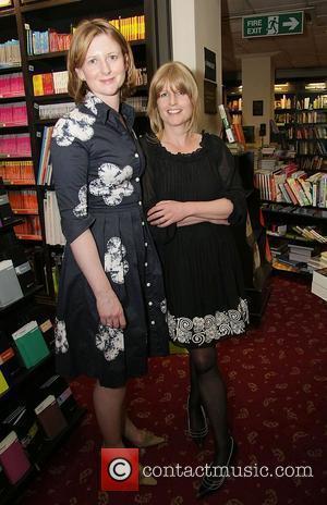 Frances Osborne and writer Rachel Johnson