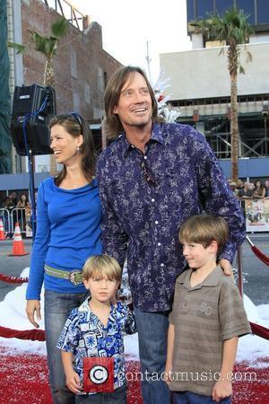 Kevin Sorbo and family