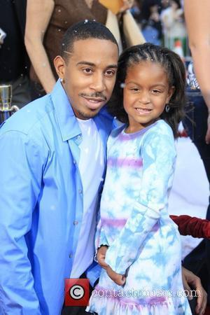 Ludacris aka Chris Bridges and daughter Karma