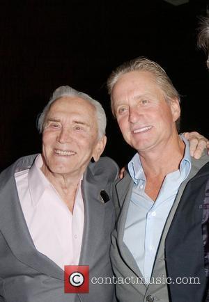 Michael Douglas, Kirk Douglas
