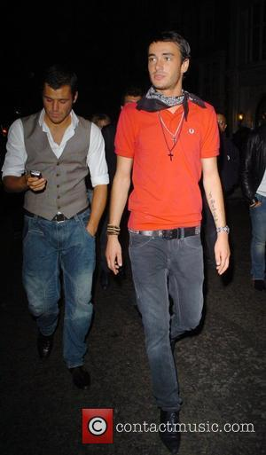 Jack Tweedy leaving Funky Buddha after a night out London, England - 21.08.07