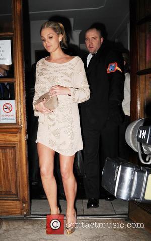 Danielle lloyd leaving Funky Buddha Nightclub London, England - 25.03.08