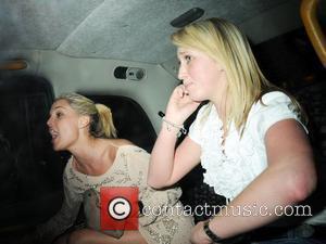 Danielle lloyd and her friend arriving at Funky Buddha Nightclub London, England - 25.03.08