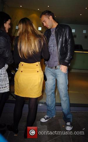 Callum Best  talking to Keeley Hazell outside Funky Buddha nightclub  London, England - 27.11.07