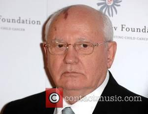 Mikhail Gorbachev Raisa Gorbachev Annual Gala Dinner at Hampton Court Palace - Arrivals London, England - 02.06.07