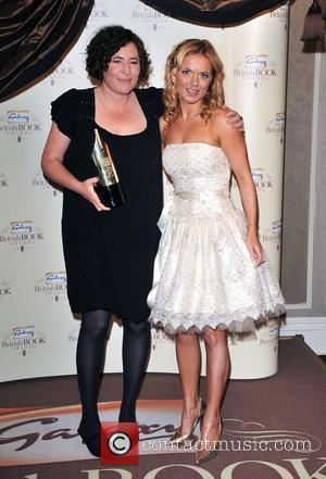 Geri Halliwell and Francesca Simon