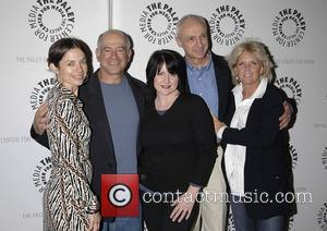 Justine Bateman, Gary David Goldberg, Tina Yothers, Michael Gross, Meredith Baxter and Paley Center For Media