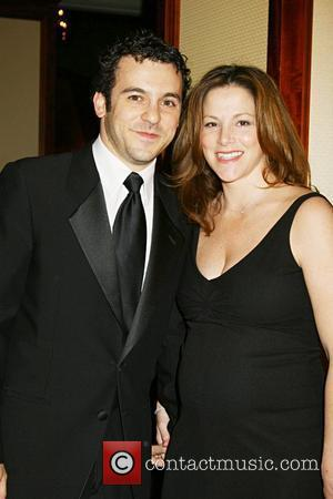 Fred Savage and Jennifer Lynn Stone The 60th Annual DGA Awards held at the Hyatt Regency Century Plaza Hotel Los...