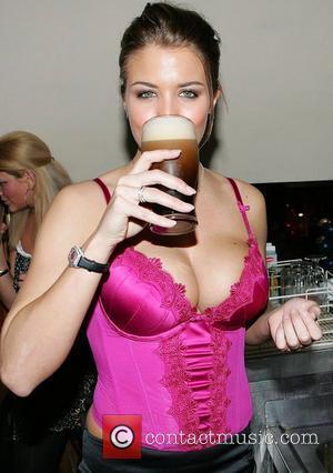 Gemma Atkinson launched a Las Vegas themed Samba Festival at Citi Bar Dublin, Ireland - 01.02.08