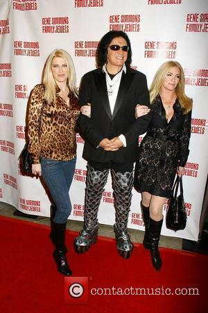 Tracy Tweed and Gene Simmons