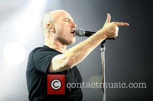 Phil Collins Genesis performing live at the LTU Arena Duesseldorf, Germany - 26.06.07