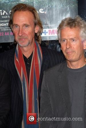 Mike Rutherford & Tony Banks Premiere of Genesis' concert and documentary DVD 'When in Rome 2007' at Odeon Kensington London,...