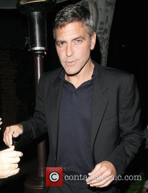 Clooney Loves Being 'Martini Man'