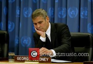 * CLOONEY VISITS U.N. HEADQUARTERS Hollywood star GEORGE CLOONEY paid a visit to the United Nations headquarters in New York...