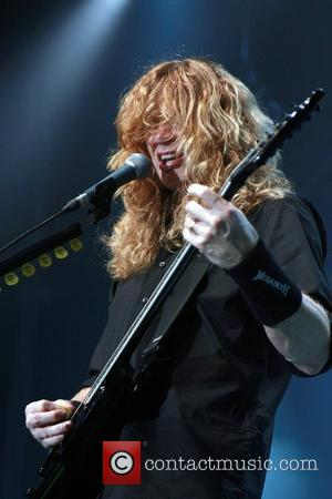 Mustaine To Open School Of Rock