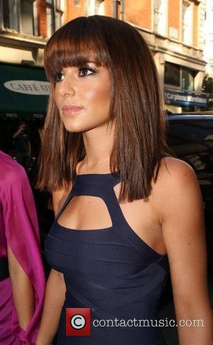 Cheryl Cole of Girls Aloud arrives at an Oxford Street store for a photoshoot with the band London, England -...