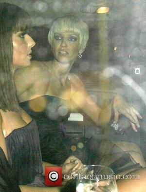 Cheryl Cole and Sarah Harding leaving Sketch nightclub  London, England - 17.10.07