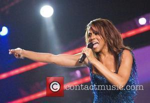 Deborah Cox performs at the GLAAD Media Awards at the Seminole Hard Rock Hotel & Casino Hollywood, Florida - 12.04.08